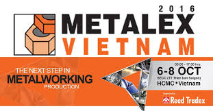 06-08/10/2016: MIDA participated in METALEX VIETNAM 2016 - At SECC – HCM CITY - The Vietnam's International Exhibition on Machine Tools & Metalworking Solutions for Production Upgrade – 10th Edition.